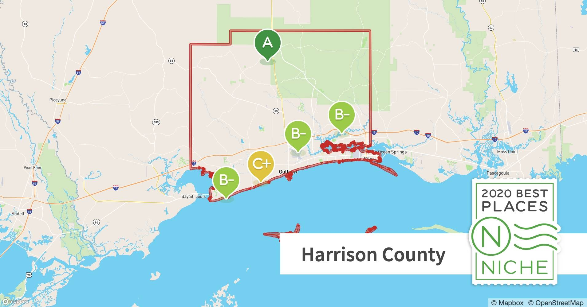 2020 Best Places To Live In Harrison County Ms Niche
