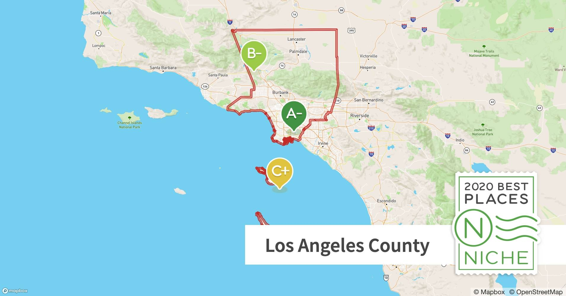 2020 Best Places To Live In Los Angeles County Ca Niche