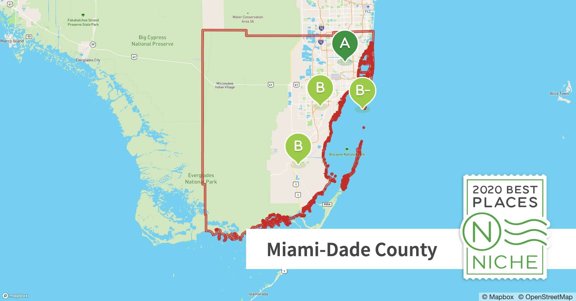 Image of: Best Miami Dade County Zip Codes To Live In Niche
