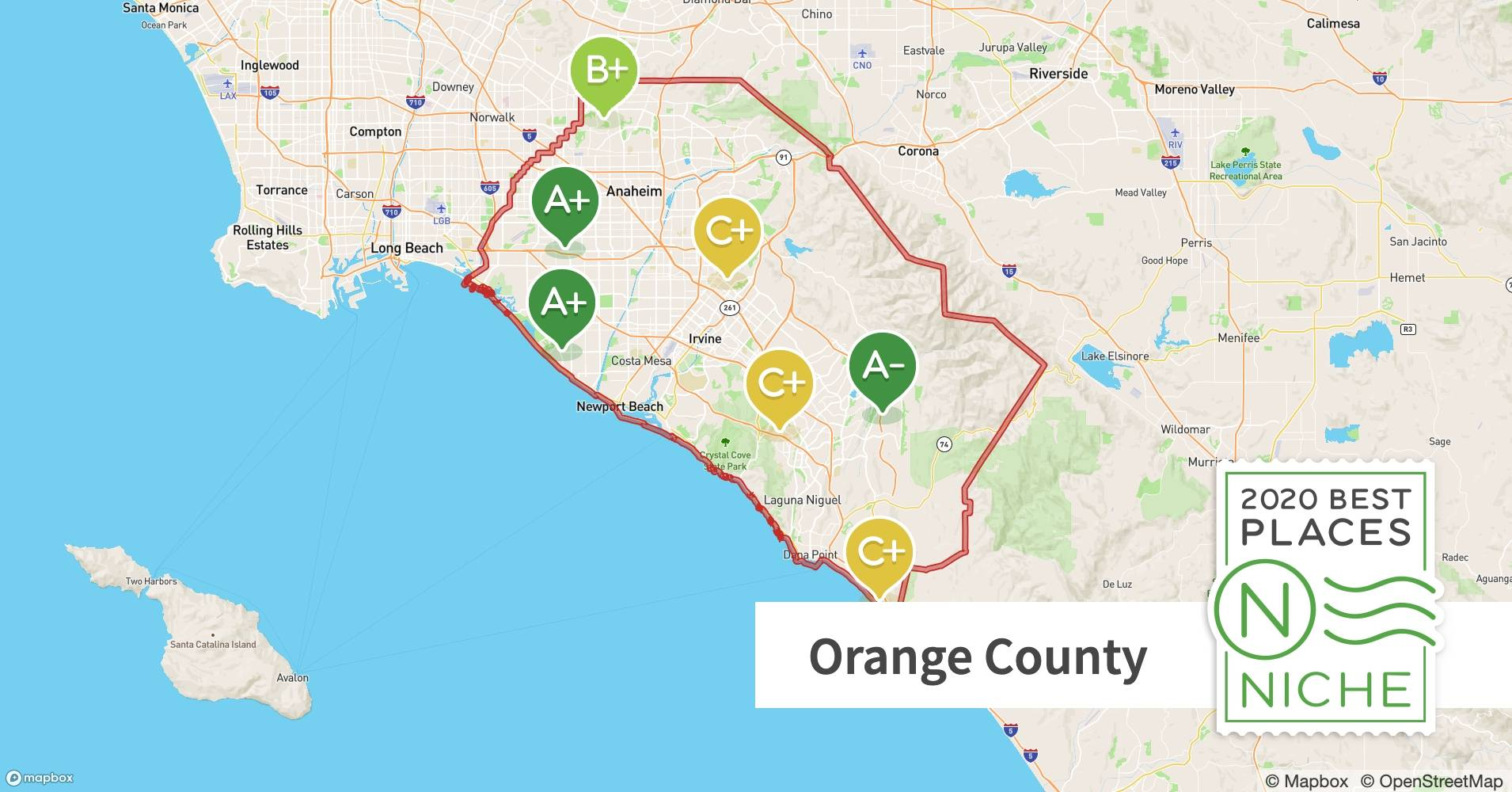 2020 Best Places To Live In Orange County Ca Niche