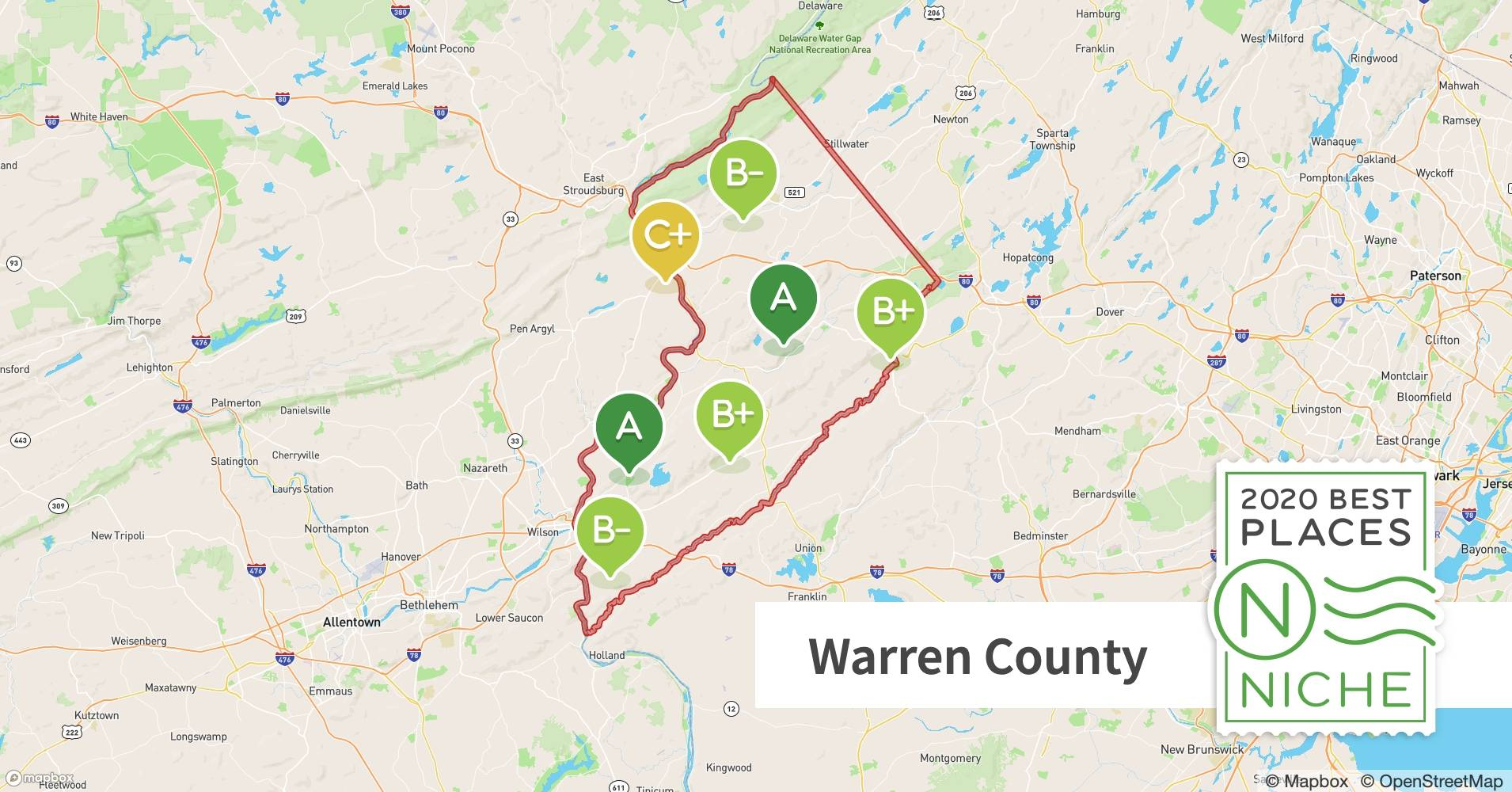 2020 Best Places To Live In Warren County Nj Niche