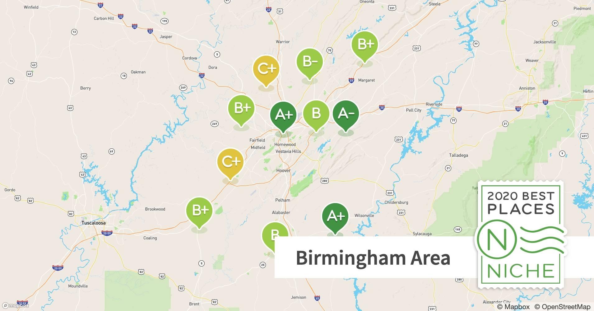 2020 Best Birmingham Area Suburbs To Live Niche