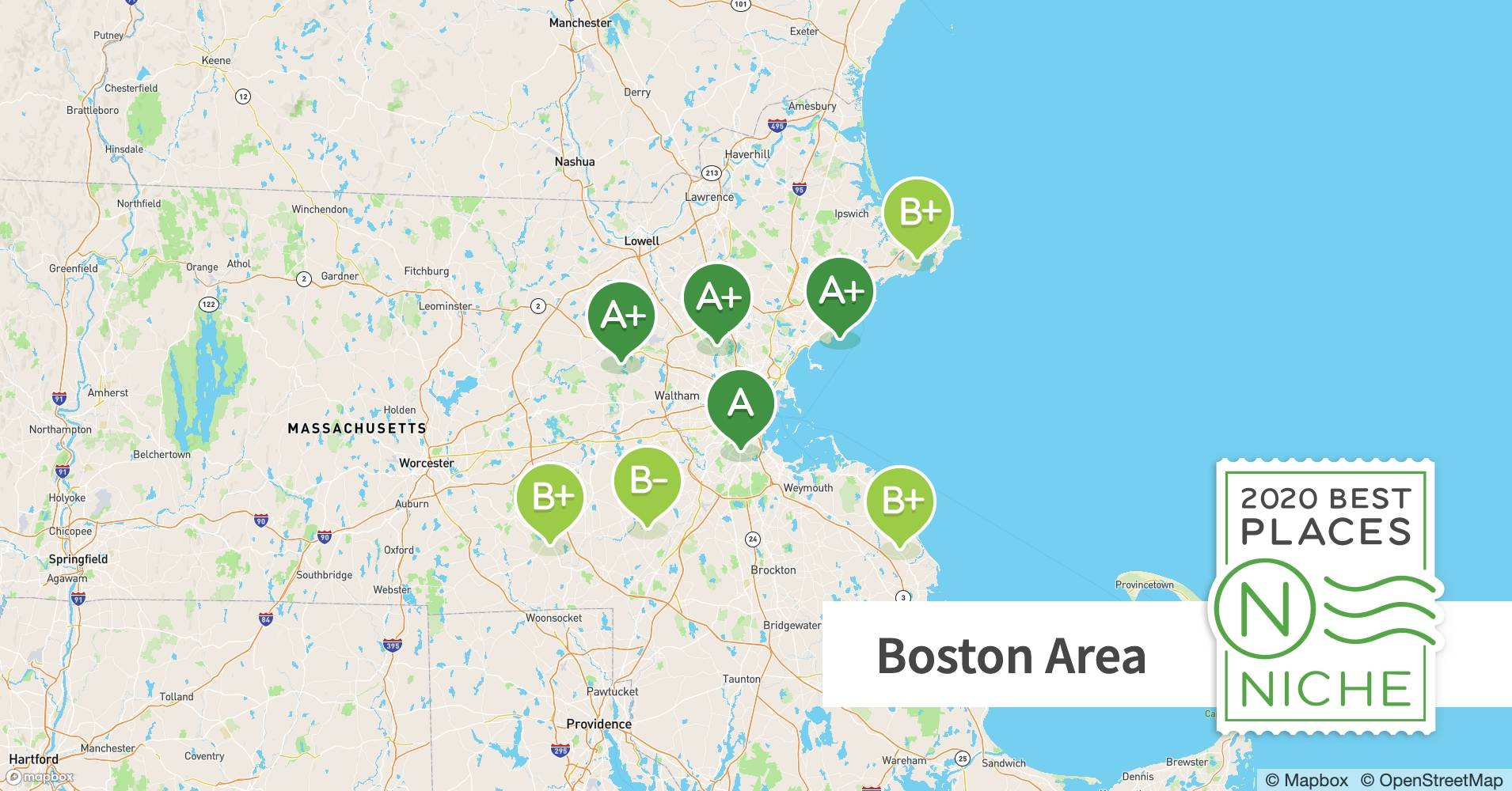 2020 Best Boston Area Neighborhoods For Young Professionals Niche