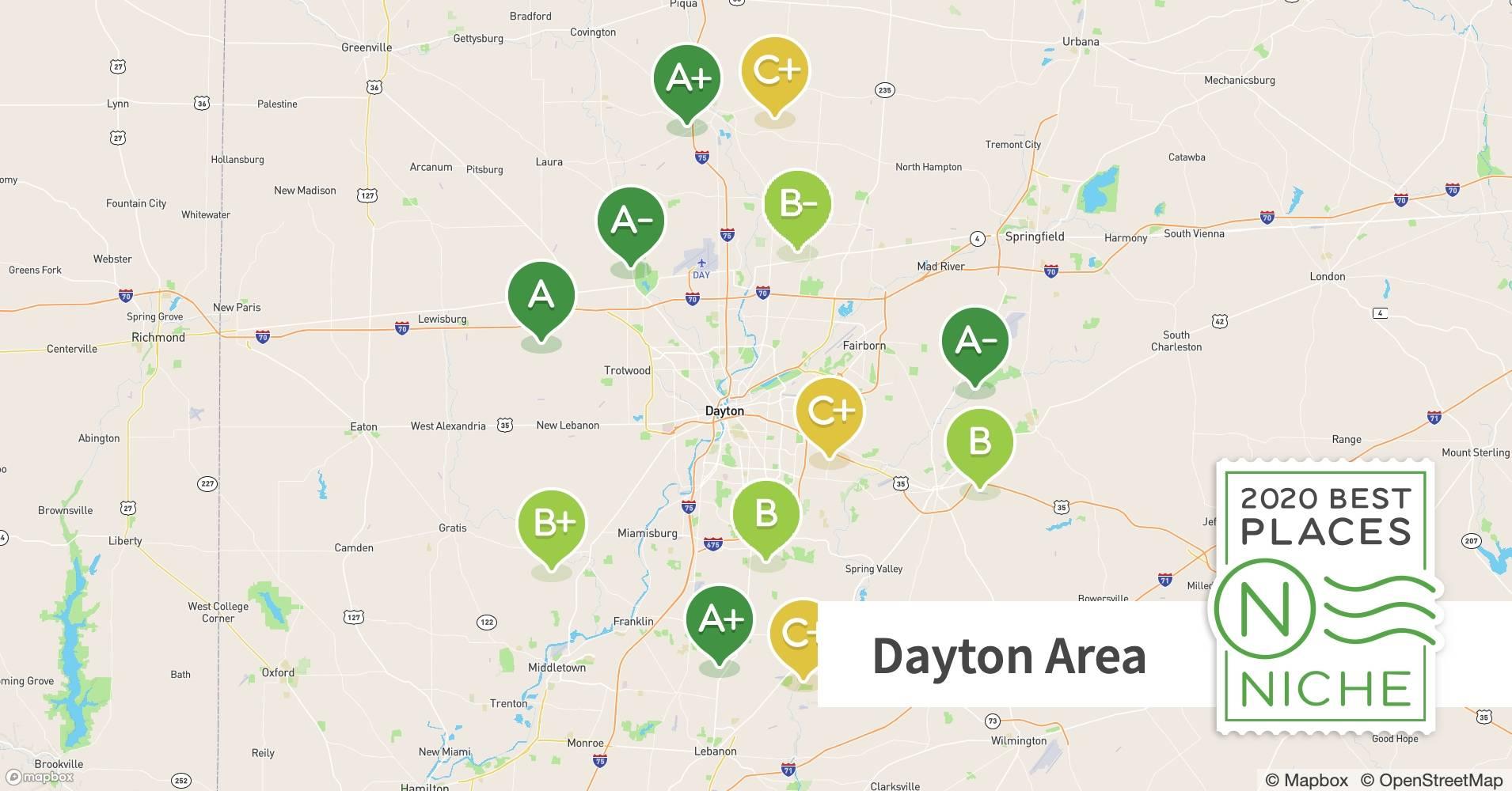 2020 Best Dayton Area Suburbs To Live Niche