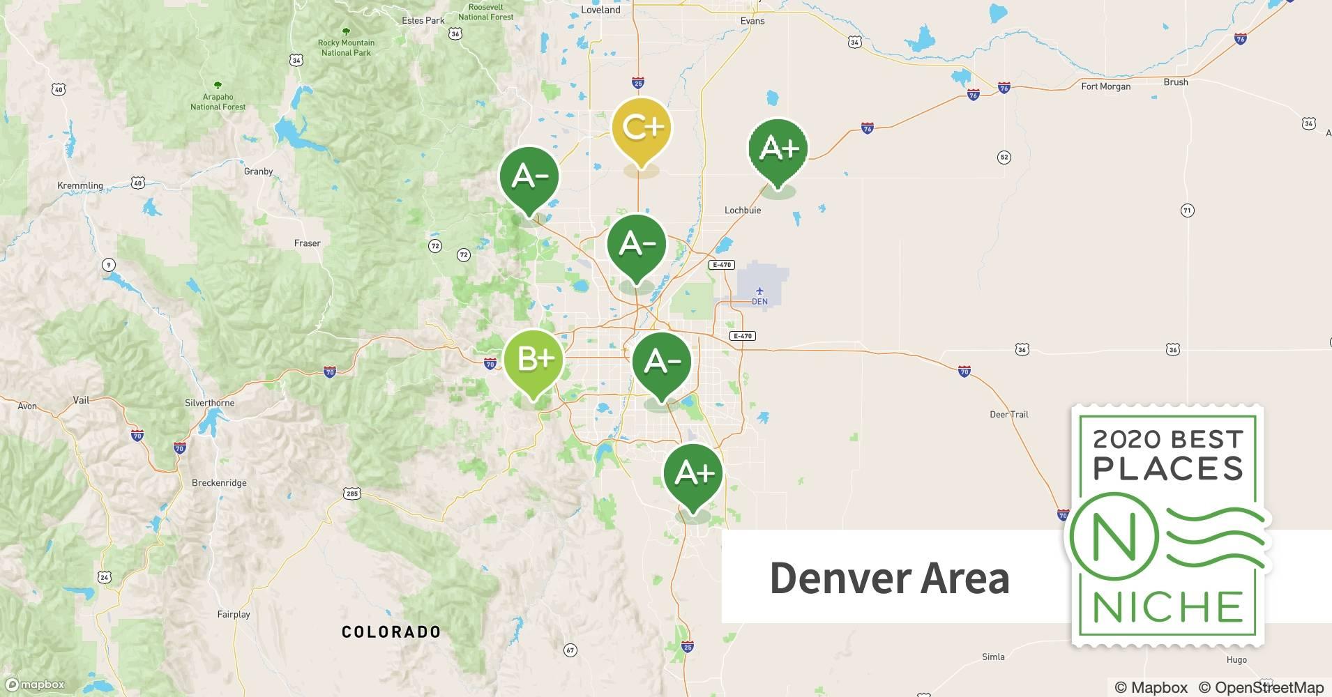 2020 Best Denver Area Suburbs To Live Niche