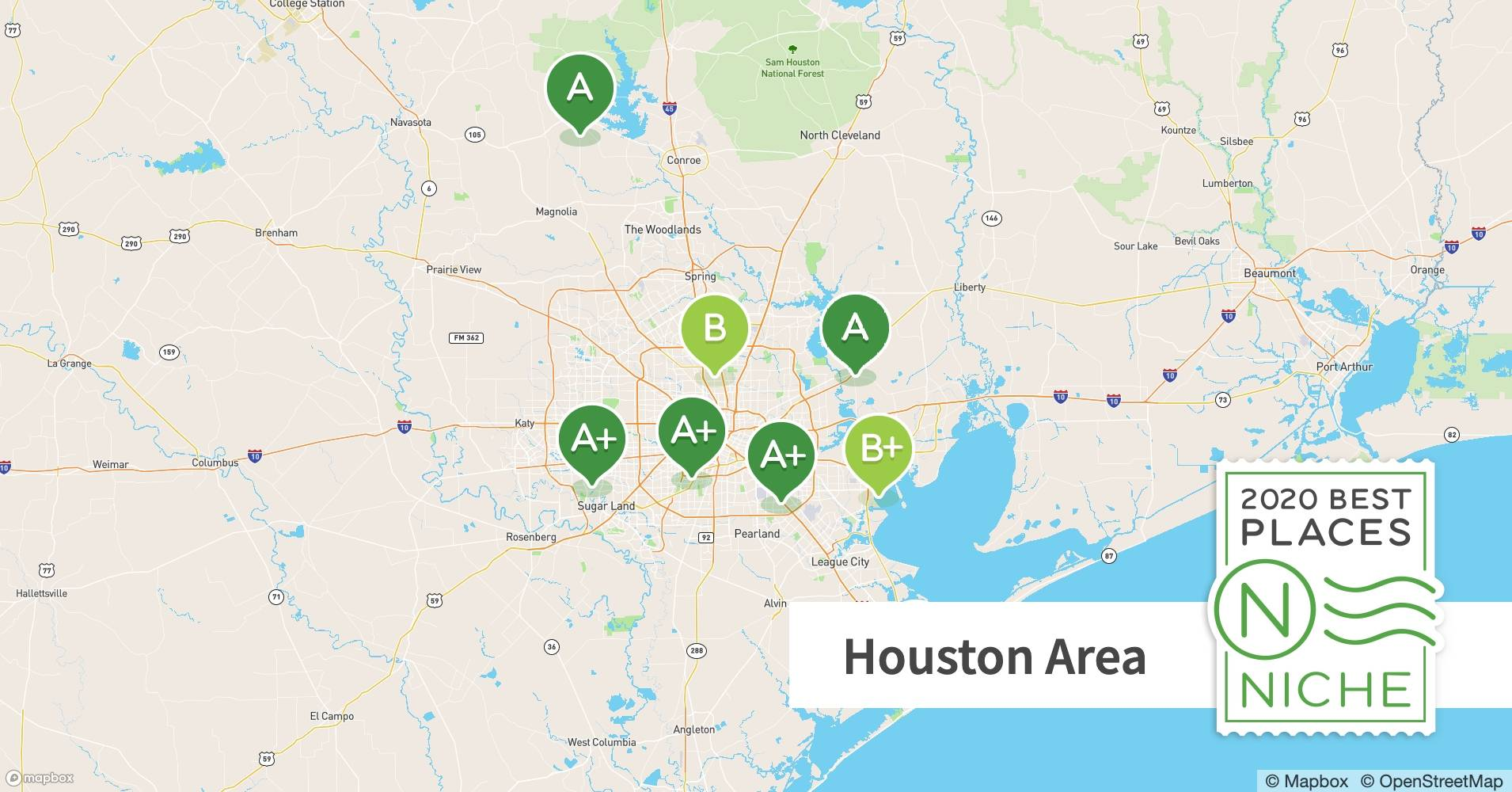 2020 Best Places To Live In The Houston Area Niche,How To Keep Dog From Jumping Fence
