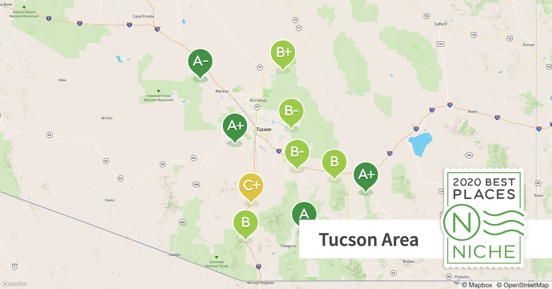2020 Best Places To Live In The Tucson Area Niche