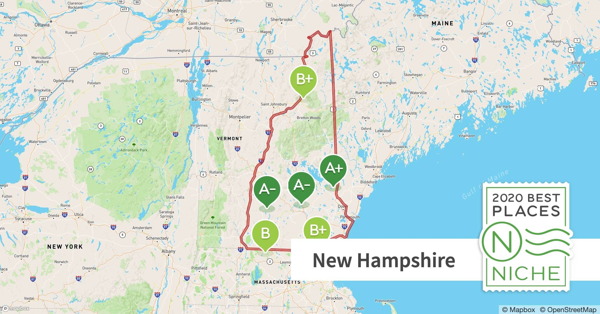 2020 Best Places To Live In New Hampshire Niche