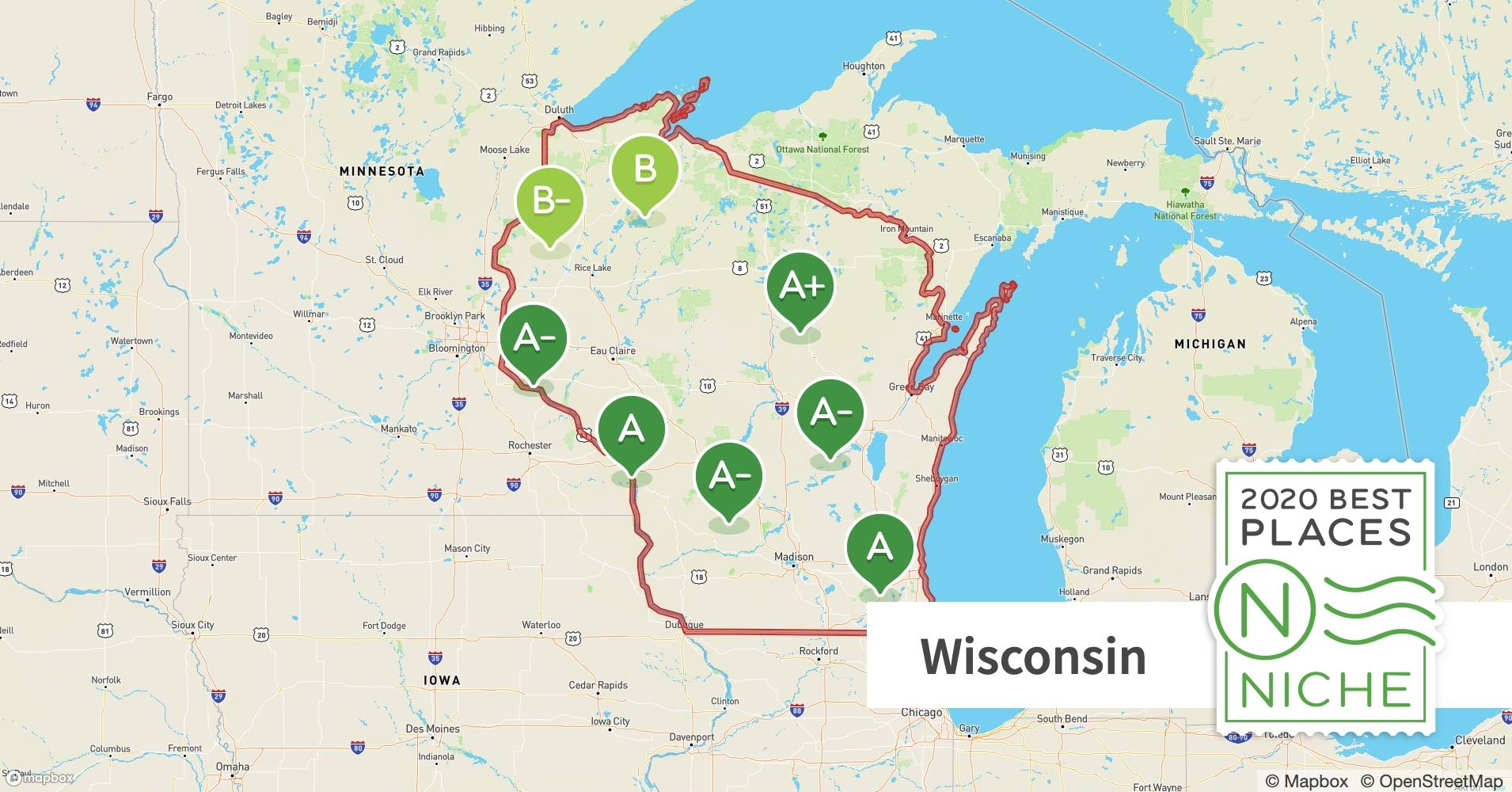 2020 Best Places To Retire In Wisconsin Niche
