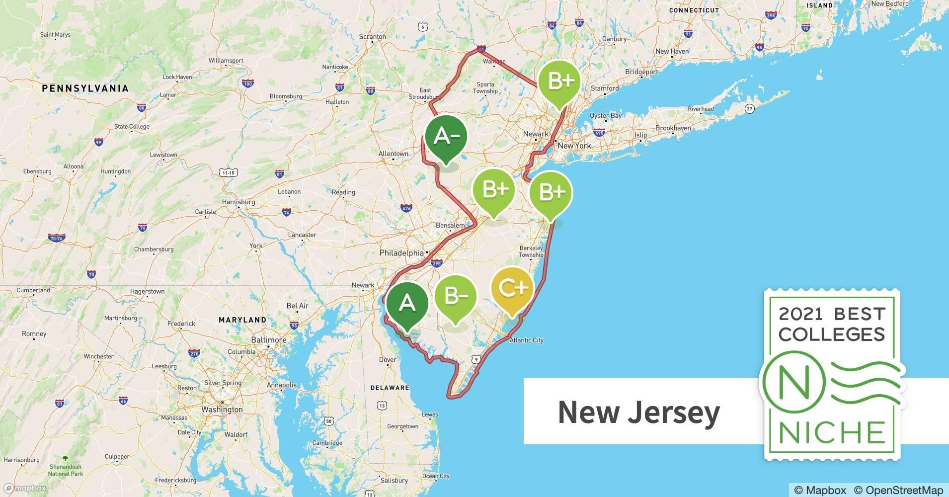 2021 Best Colleges In New Jersey Niche