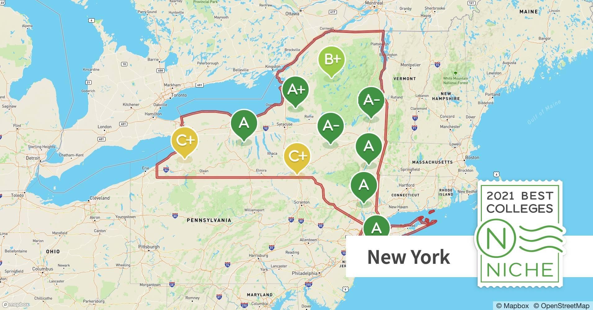 2021 Best Colleges In New York Niche