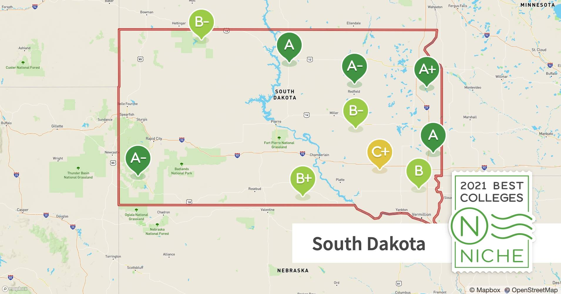 Picture of: 2021 Best Colleges In South Dakota Niche
