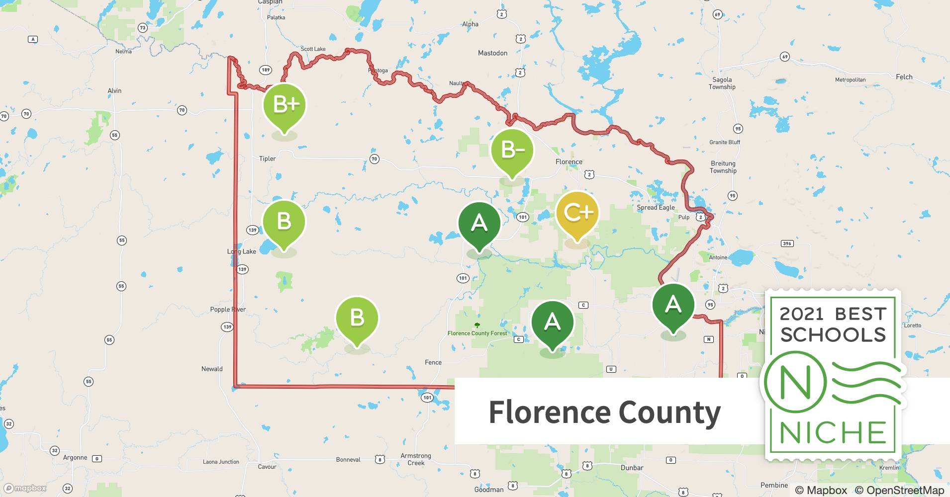 2021 Most Diverse Private Schools in Florence County, WI ...