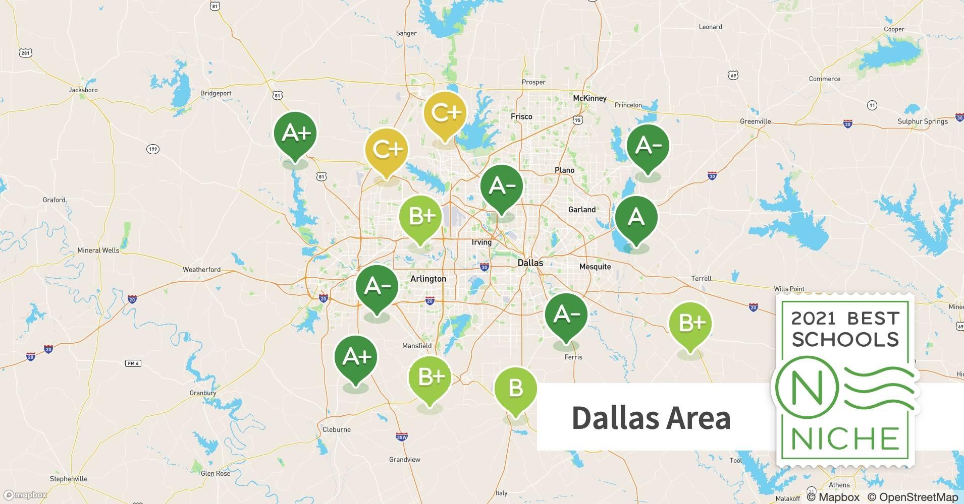 2021 Best Private K 12 Schools In The Dallas Fort Worth Area Niche