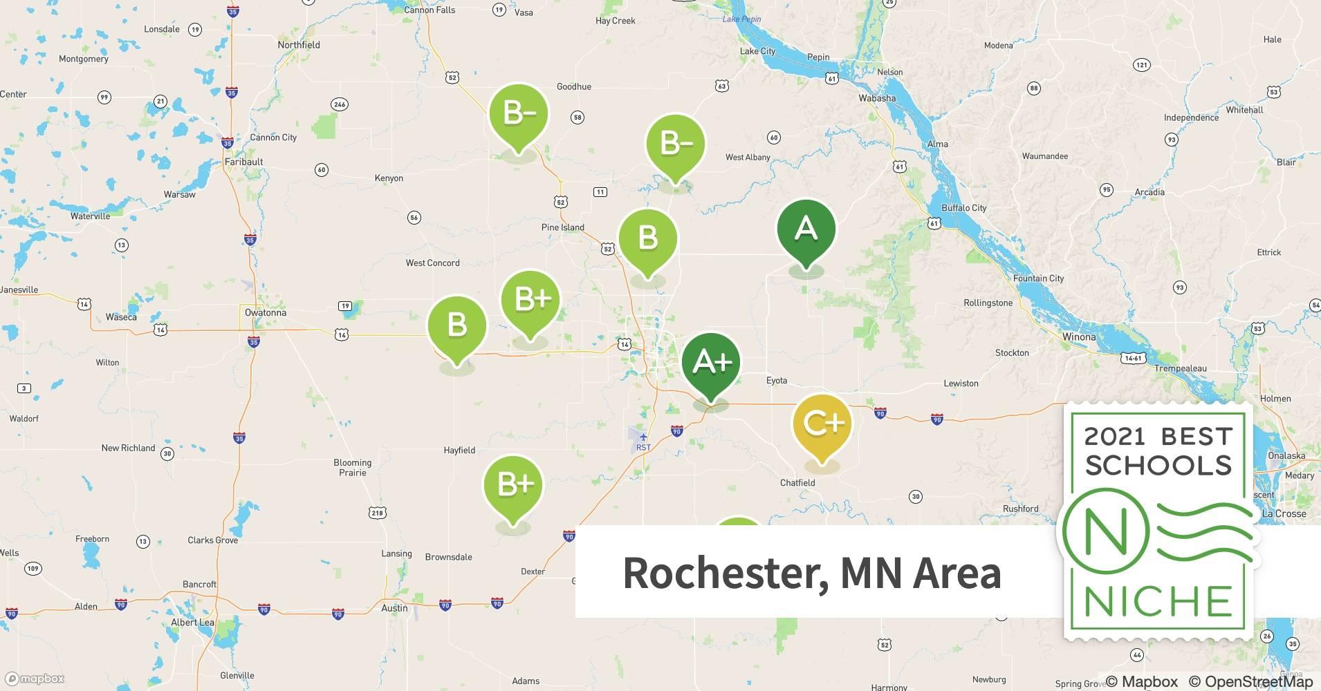 2021 Best Public High Schools In The Rochester Mn Area Niche