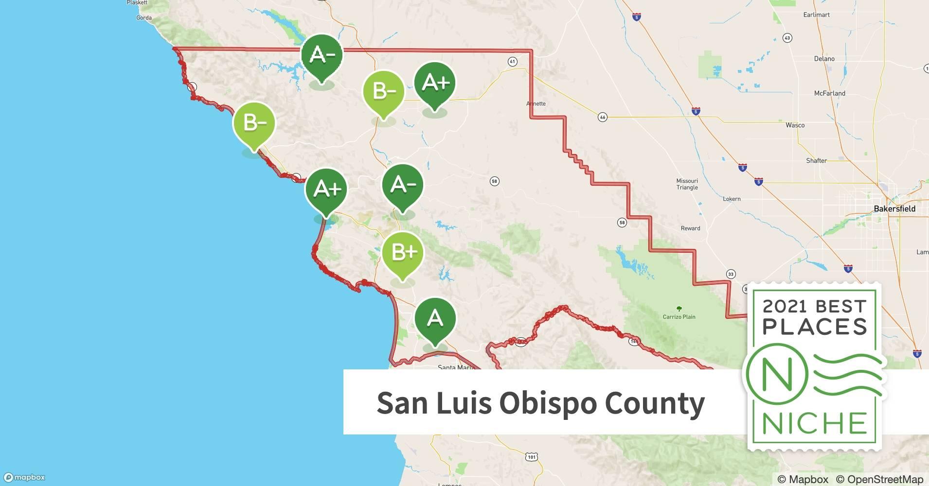 2021 Best Places To Live In San Luis Obispo County Ca Niche