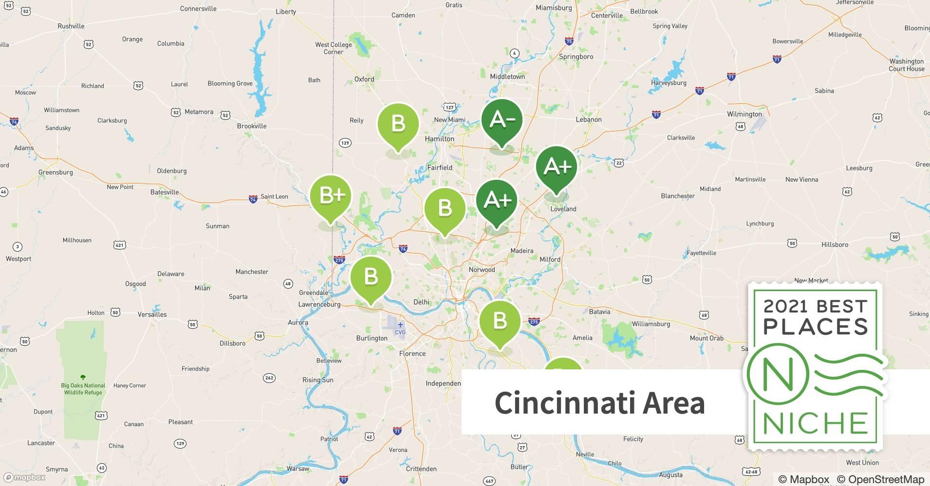 2021 Best Places To Live In The Cincinnati Area Niche