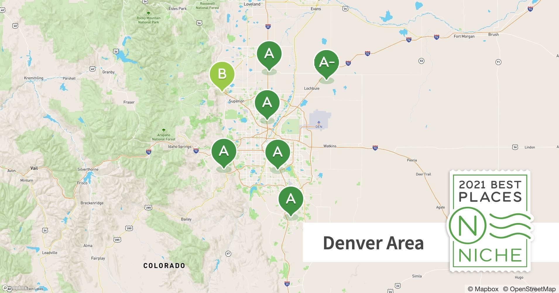 2021 Best Denver Area Suburbs To Live Niche