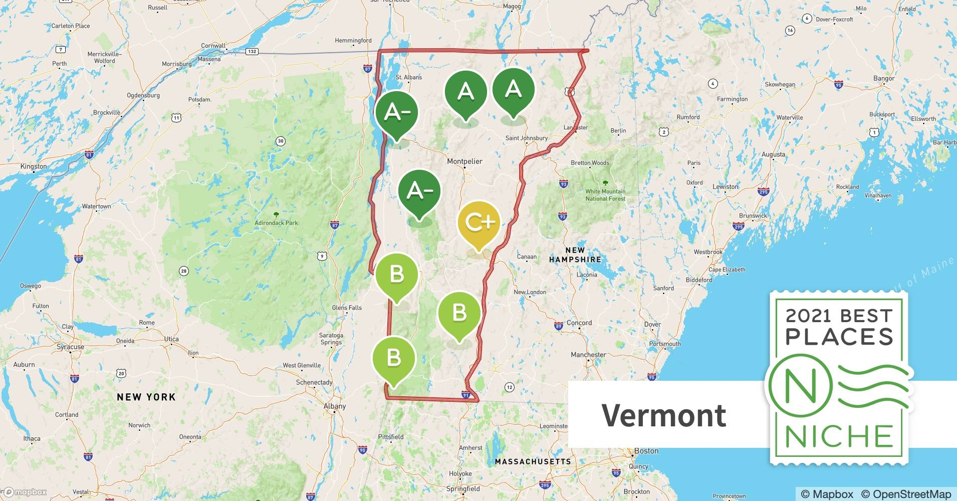 2021 Best Places To Live In Vermont Niche