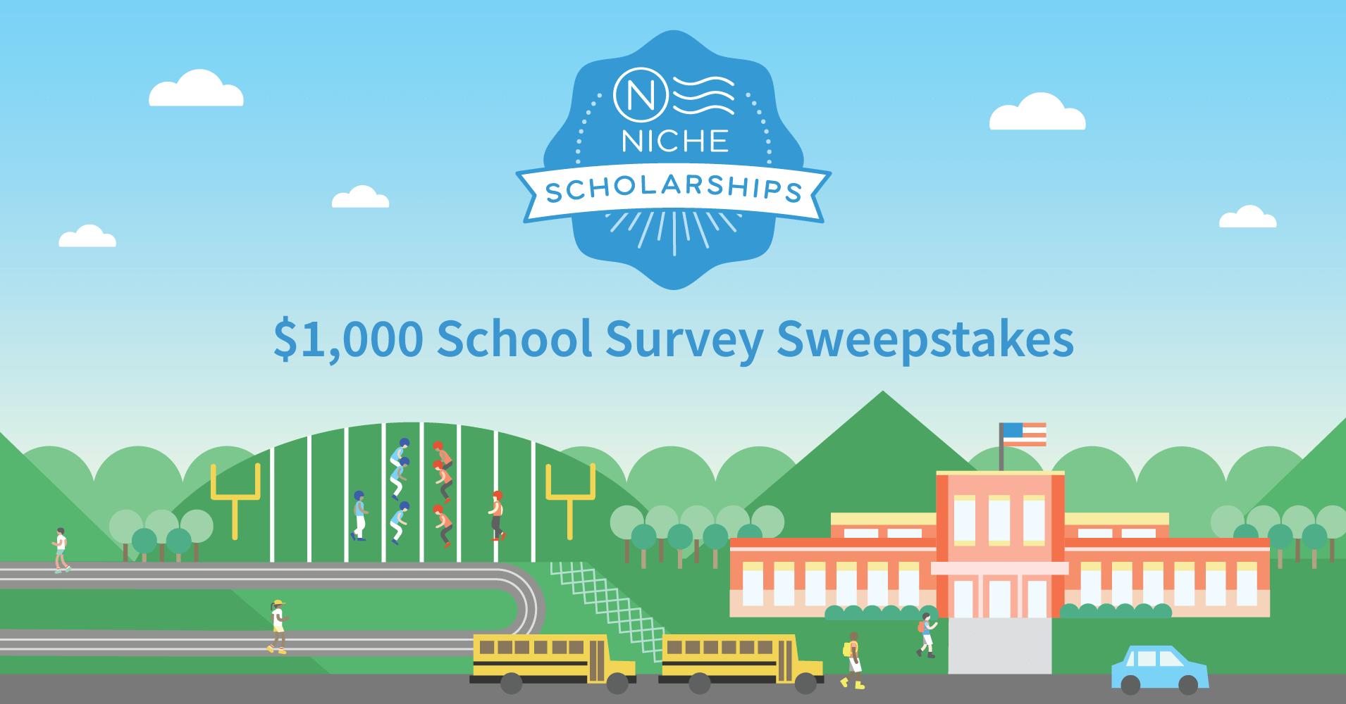 $1,000 School Survey Sweepstakes - Niche