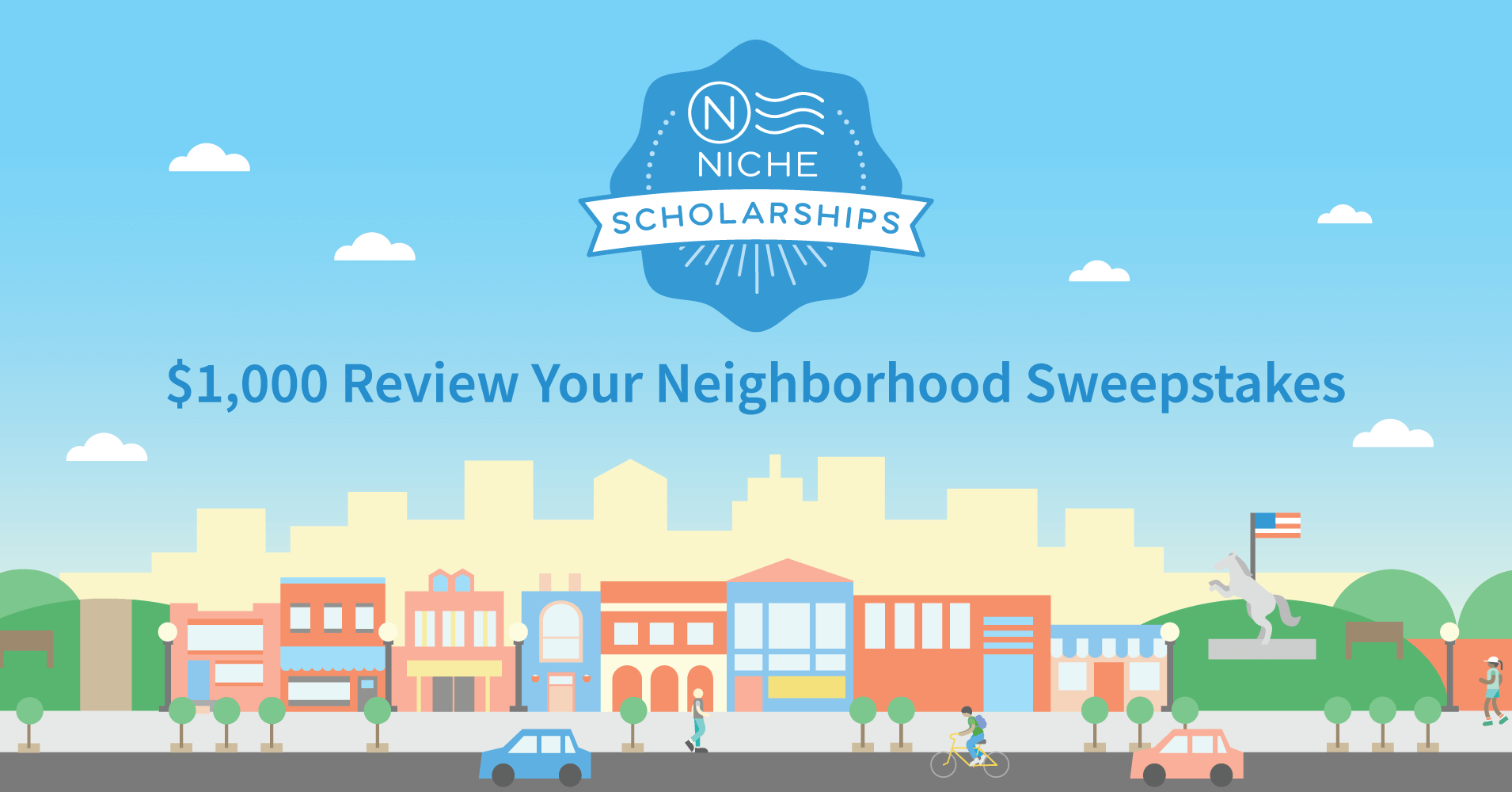 $1,000 Local Survey Sweepstakes - Niche