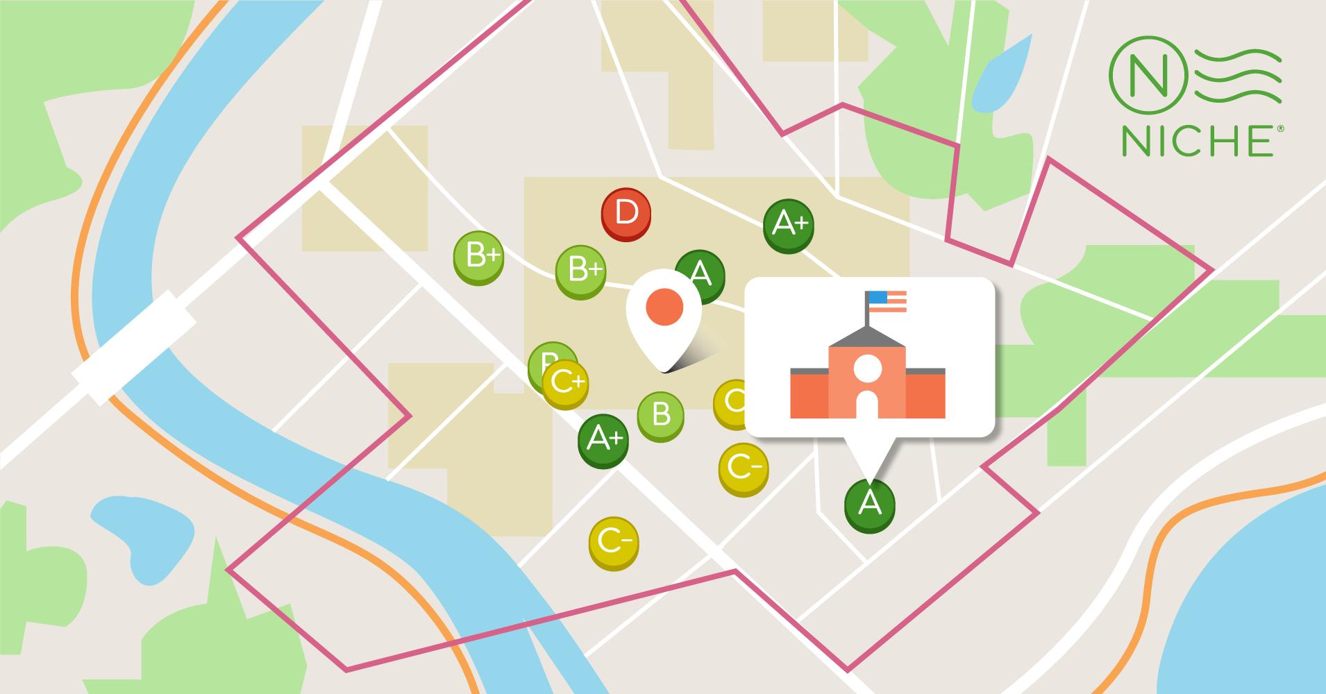find schools near you   niche
